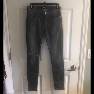 Hudson light gray jeans